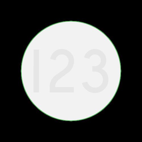 Untersetzer Tischuntersetzer bedruckt rund 9,5x9,5cm